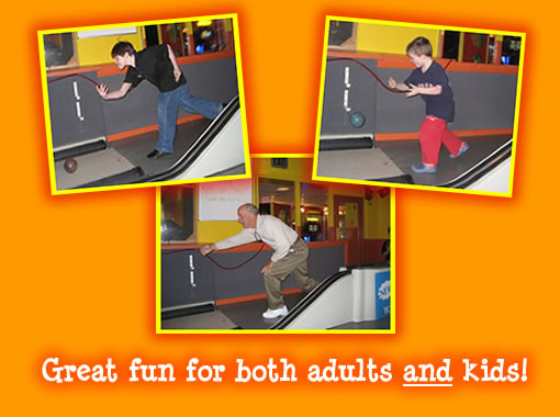 Mini-bowling fun for all ages!